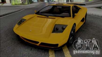 GTA V Pegassi Infernus Restructured для GTA San Andreas