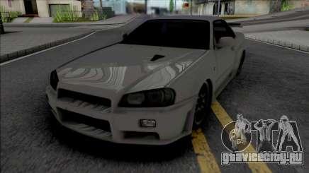 Nissan Skyline GT-R R34 2002 для GTA San Andreas