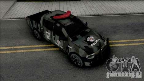 Mitsubishi L200 Triton 2010 CHOQUE для GTA San Andreas