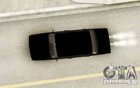Ваз 2107 Черный для GTA San Andreas