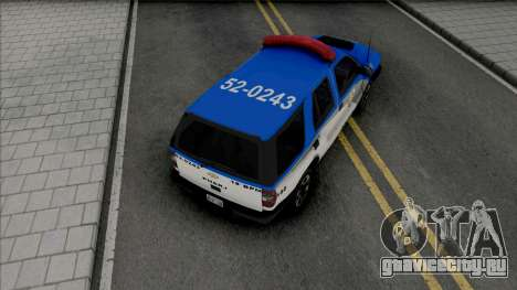 Chevrolet Blazer Advantage 2009 PMERJ для GTA San Andreas