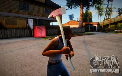 Fire Axe from Ravaged для GTA San Andreas