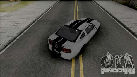 Ford Shelby GT500 2013 (SA Lights) для GTA San Andreas