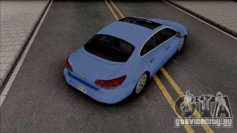 Volkswagen Passat CC 2010 Improved для GTA San Andreas