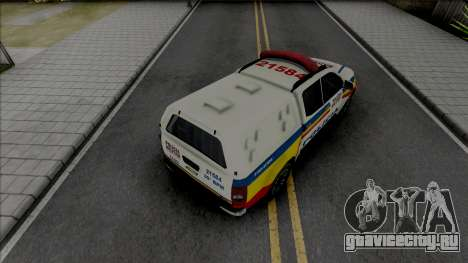 Chevrolet S10 PMMG для GTA San Andreas