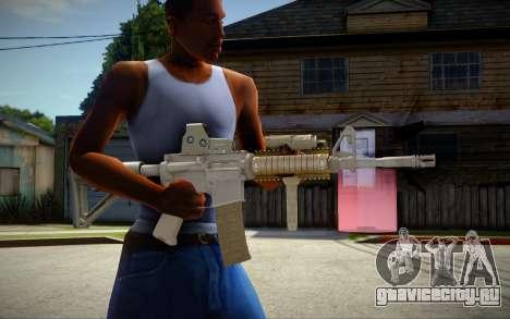 M4 Camo для GTA San Andreas
