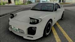 Mazda RX-7 FD3s A-Spec Initial D 4th Stage