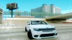 Jeep Grand Cherokee Black Rims для GTA San Andreas