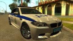 BMW M5 F10 ГИБДД