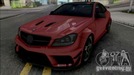 Mercedes-Benz C63 AMG Black Series (CSR Racing) для GTA San Andreas