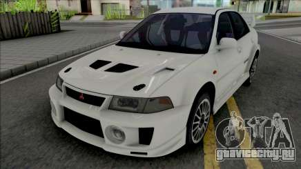 Mitsubishi Lancer Evolution V RS Edited для GTA San Andreas