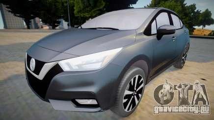 Nissan Versa 2020 (interior lowpoly) для GTA San Andreas
