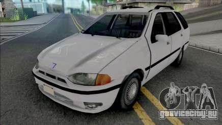 Fiat Palio Weekend 1997 Improved для GTA San Andreas