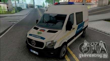 Mercedes-Benz Sprinter 2017 Hungarian Police для GTA San Andreas