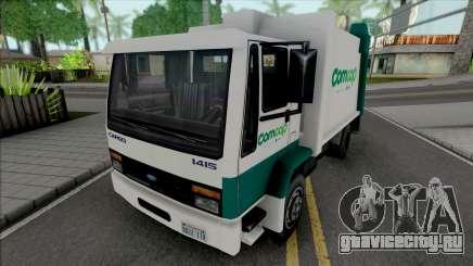 Ford Cargo 1415 Garbage Truck Comcap SC для GTA San Andreas