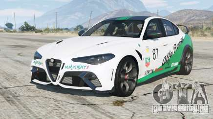 Alfa Romeo Giulia GTAm (952) 2020〡add-on для GTA 5