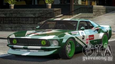 Ford Mustang RTR-X PJ8 для GTA 4