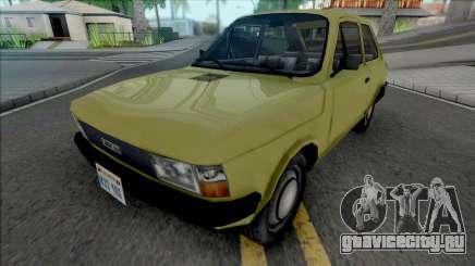 Fiat 147 Improved v2 для GTA San Andreas