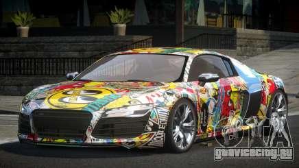 Audi R8 GST-R L8 для GTA 4