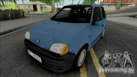 Fiat Seicento Blue для GTA San Andreas