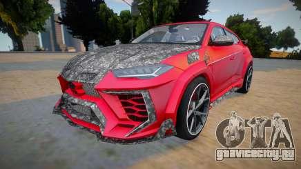 Lamborghini Urus Mansory для GTA San Andreas
