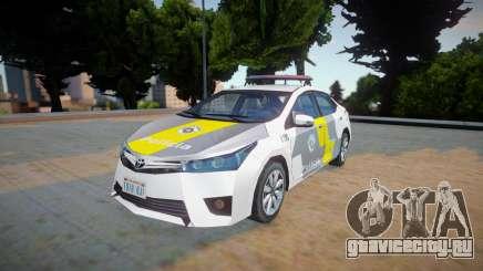Toyota Corolla 2017 - CPRv PMESP для GTA San Andreas