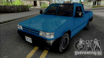 Fiat Fiorino 1995 (Pick Up) v2 для GTA San Andreas