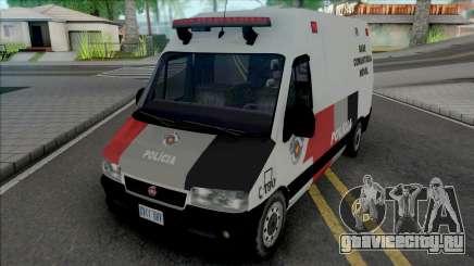 Fiat Ducato PMESP для GTA San Andreas