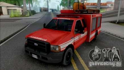 Ford F4000 Fire Brigade для GTA San Andreas