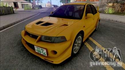Mitsubishi Lancer Evolution VI GSR T.M.E Edited для GTA San Andreas