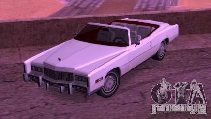 Cadillac Fleetwood Eldorado 1976 для GTA San Andreas