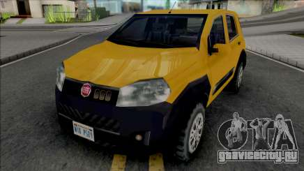 Fiat Uno Way 2011 для GTA San Andreas