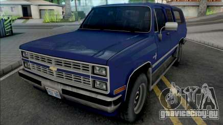 Chevrolet Suburban 1986 Improved для GTA San Andreas