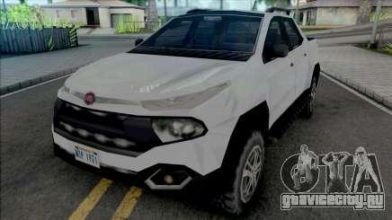 Fiat Toro 2020 SA Style для GTA San Andreas