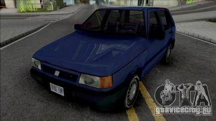 Fiat Uno 1995 Blue для GTA San Andreas