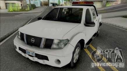 Nissan Frontier Tow Truck для GTA San Andreas