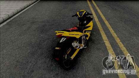 Yamaha Y15ZR V2 Sniper Kuning для GTA San Andreas