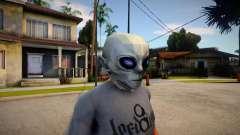 BULLY SE Alien Mask For CJ для GTA San Andreas