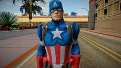Capitan America Fortnite для GTA San Andreas