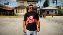 Iron Maiden T-Shirt (good textures) для GTA San Andreas