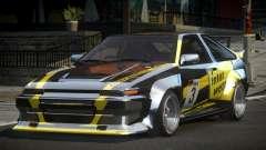 1983 Toyota AE86 GS Racing L7 для GTA 4