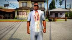 Starlet from GTA V T-Shirt Mod для GTA San Andreas