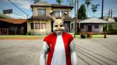 Rabbit Mask (GTA Online Diamond Heist) для GTA San Andreas
