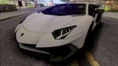 Lamborghini Aventador SV Coupe для GTA San Andreas