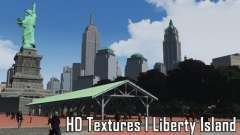 HD Textures - Liberty Island для GTA 4