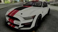Ford Mustang Shelby GT500 2020 (SA Lights) для GTA San Andreas