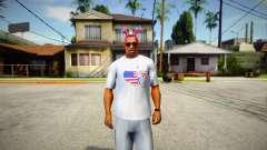 T-shirt Independence Day DLC V1 для GTA San Andreas