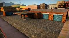 HD Xoomer Garage SF 1.0 для GTA San Andreas