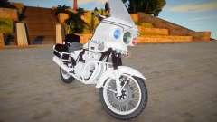 Kawasaki Z1000 Police для GTA San Andreas