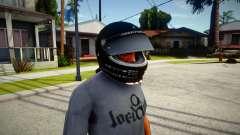 Racing Helmet Rockstar для GTA San Andreas